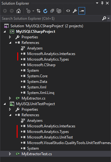 Automated builds for Azure Data Lake Analytics extensibility
